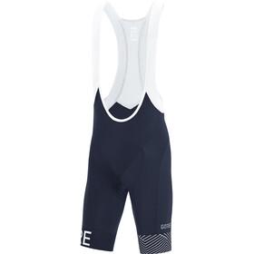GORE WEAR C5 Optiline Bib Shorts Heren, blauw/wit
